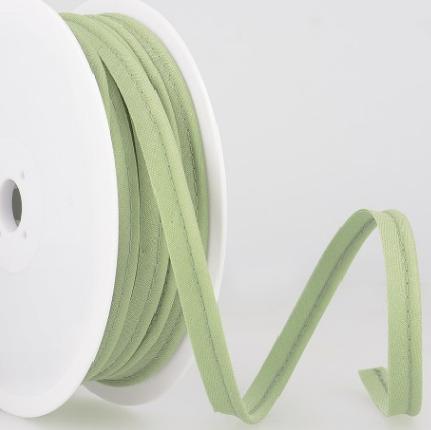 Passepoil tout textile 10 mm Amande