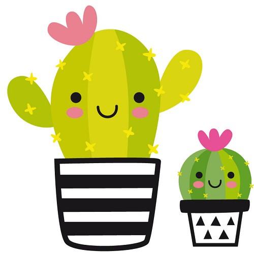 Transfert thermocollant petit modèle Cactus