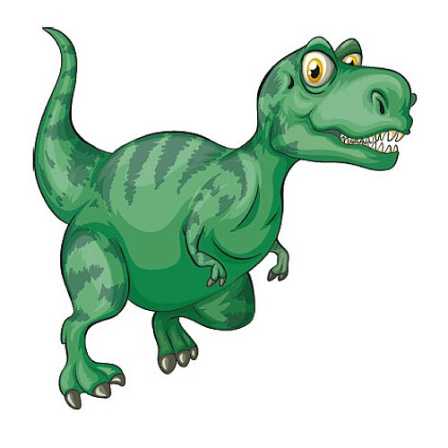 Transfert thermocollant petit modèle Dinosaure