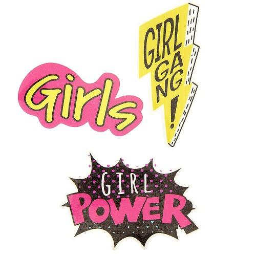 Transfert thermocollant grand modèle Girl power