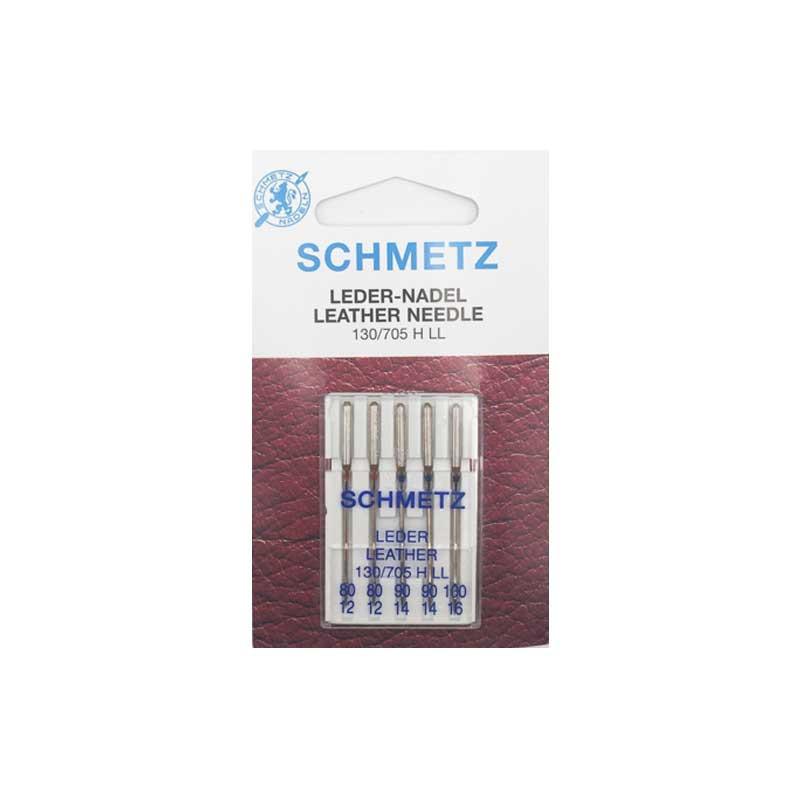 Aiguilles cuir assortiment Schmetz 80/100