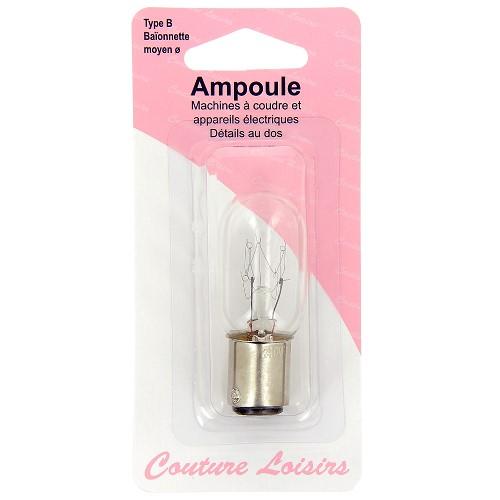 Ampoule 15w / 240 v Baïonnette moyenne