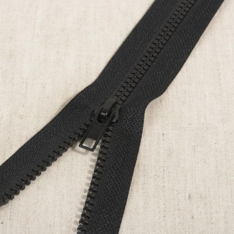 Fermeture séparable injectée 70 cm Noir