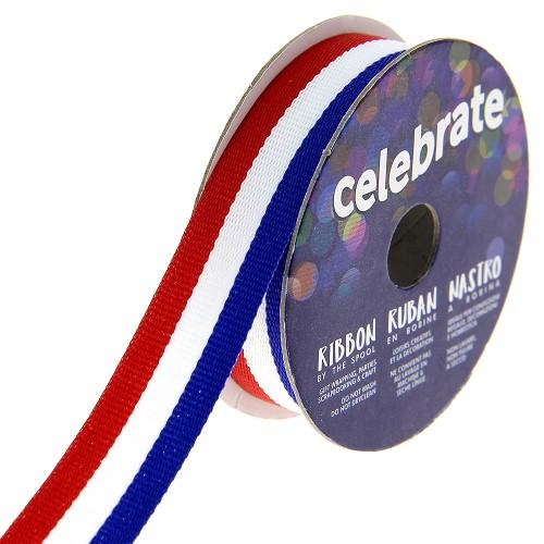Bobine ruban tricolore 4m 15mm