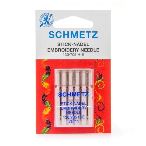 Aiguille à broder machine Schmetz n°75