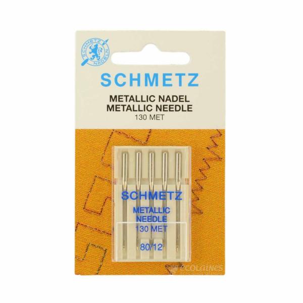 Aiguilles fils métal Schmetz n°80