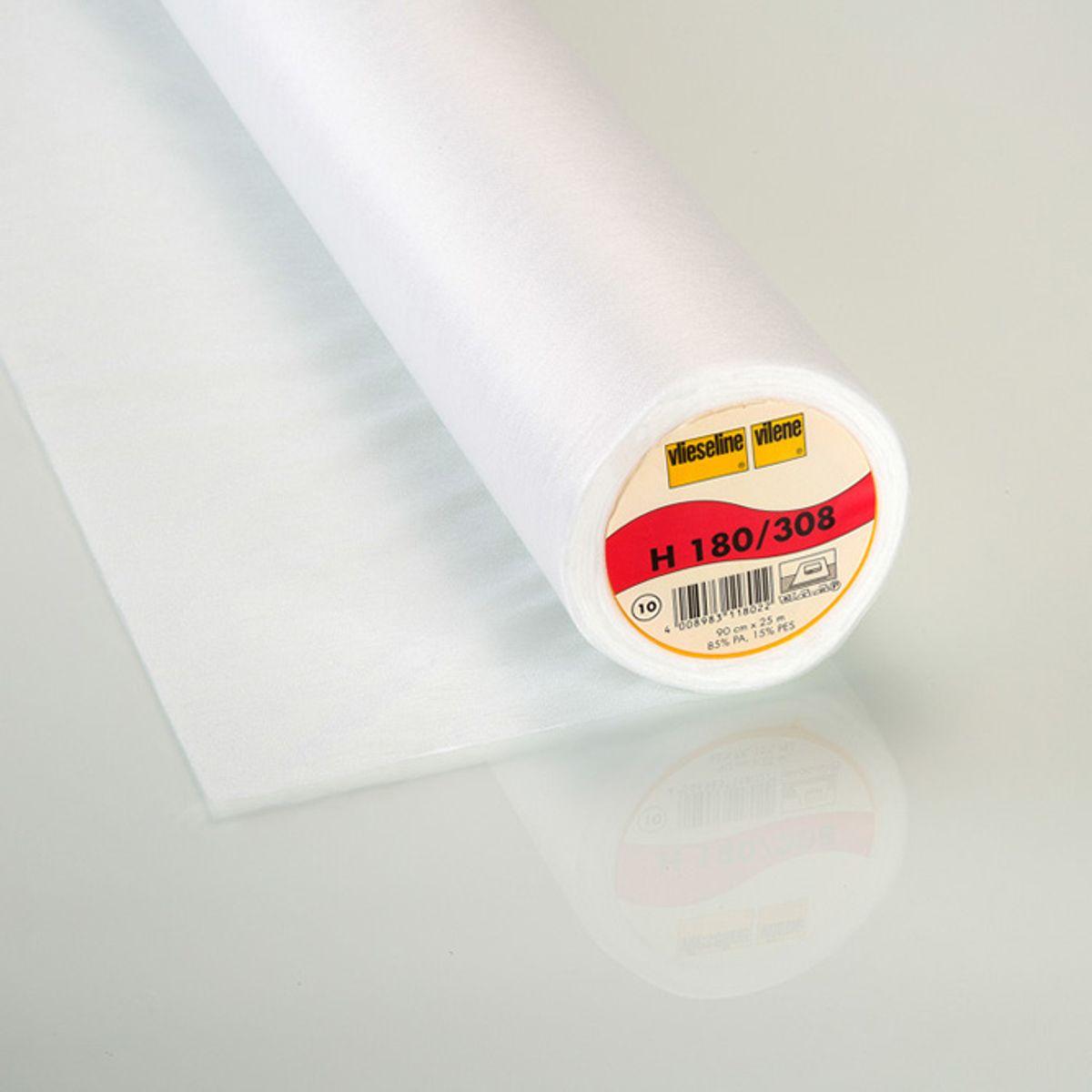 Thermocollant H180 Vlieseline Blanc x 10cm