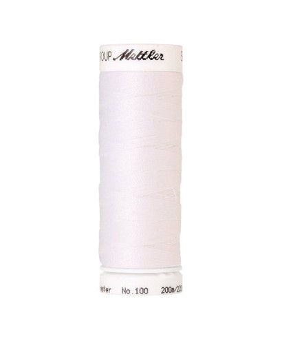 Fils à coudre polyester Mettler SERALON 200m N°2000