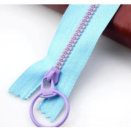 Fermeture non séparable 30 cm Bleu / Violet
