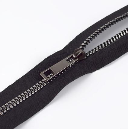 Fermeture au mètre injectée maille 5 mm Noir