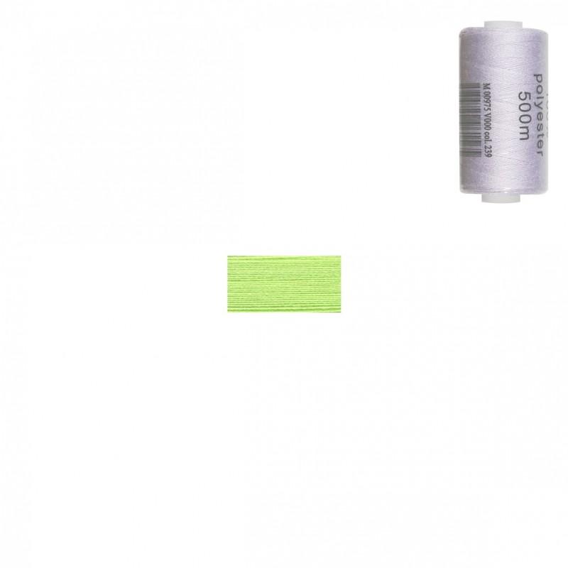 Bobine 500m fil polyester Anis