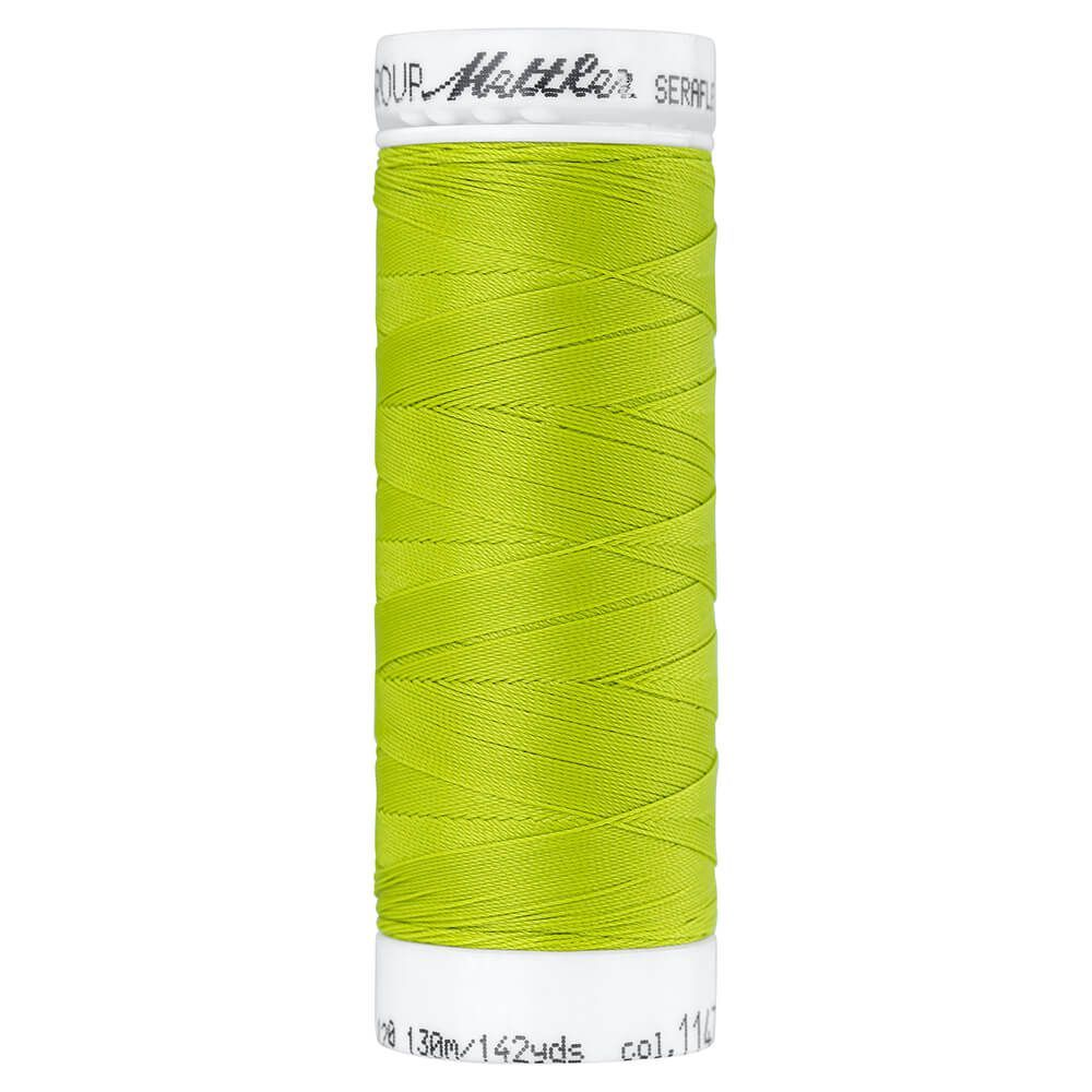 Fil à coudre élastique Seraflex Mettler 130 m n°1147 Vert citron