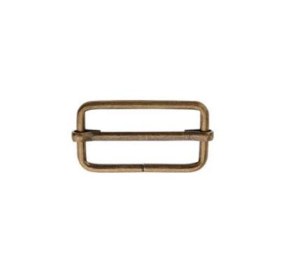 Boucle réglage 25 mm Bronze standard