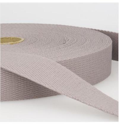 Sangle coton 30 mm Gris moyen