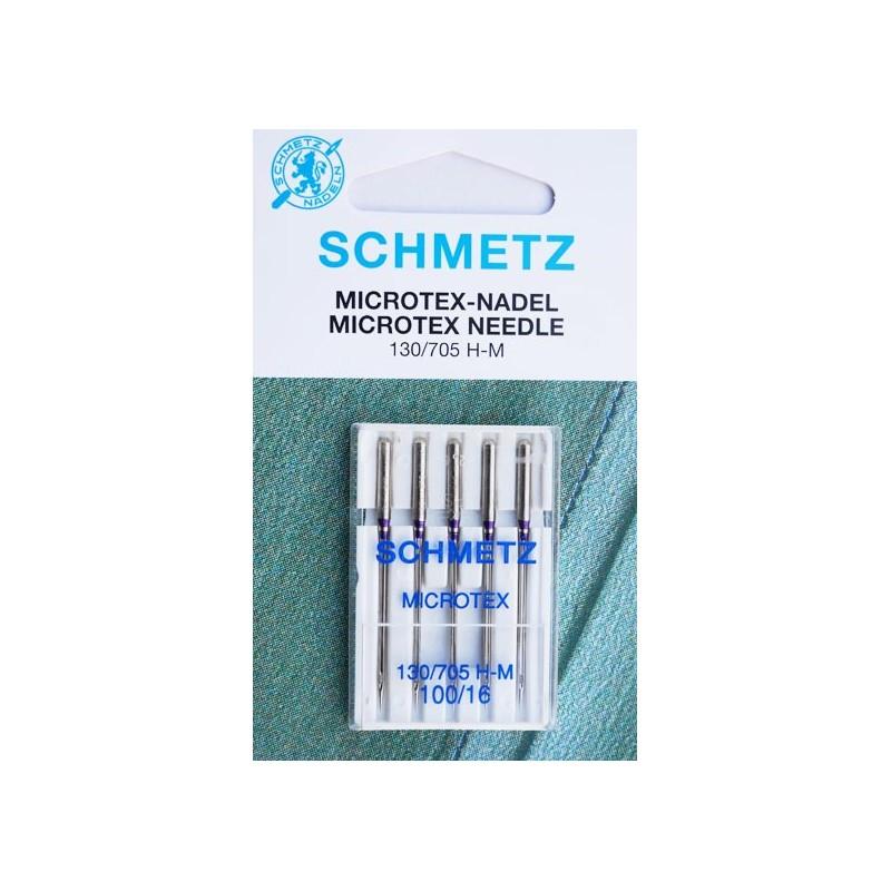 Aiguilles Microtex Schmetz 100
