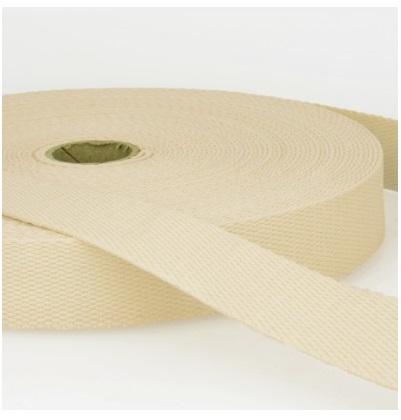 Sangle coton 30 mm écru