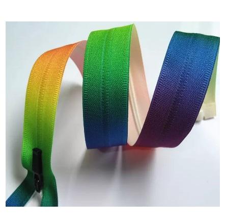 Fermeture séparable invisible multicolore 40 cm