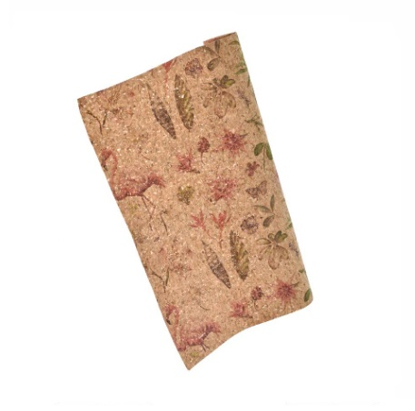 Feuille de liège format A4 Flamand rose