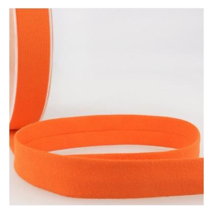 Biais jersey 20 mm orange