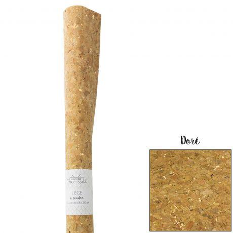 Coupon liège doré 50×67.5cm