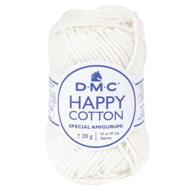 Coton happy cotton DMC 761 Ecru