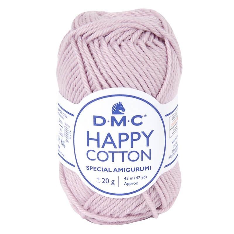 Coton happy cotton DMC 769 Rose intense
