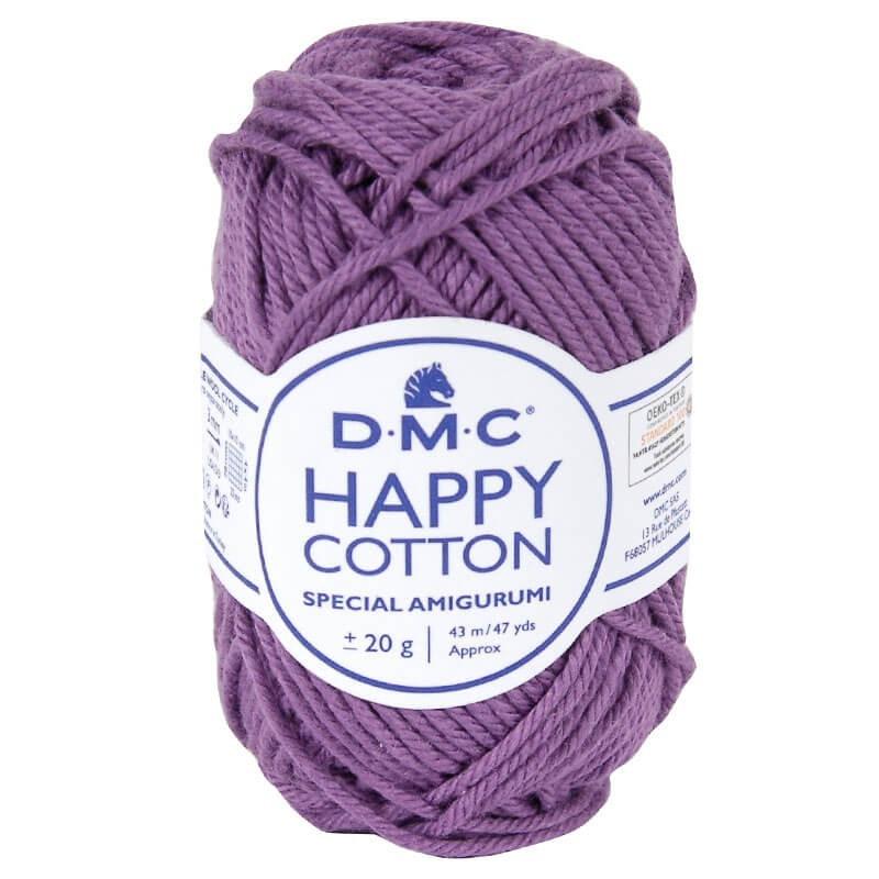Coton happy cotton DMC 756 Violet