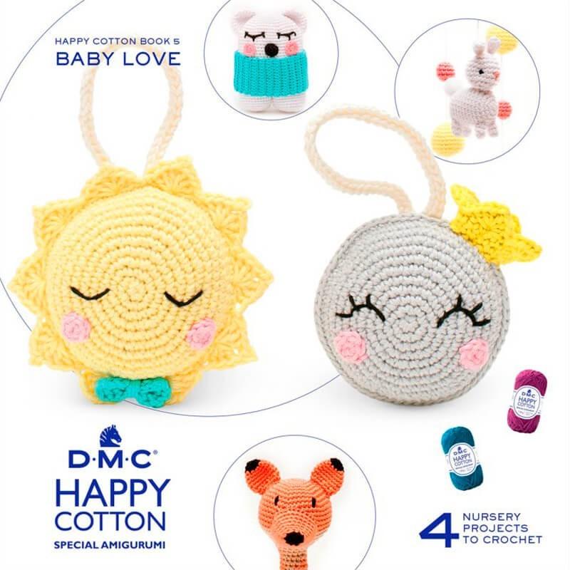 Mini Livre Baby Love Happy cotton