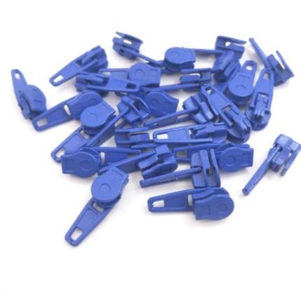 Curseur fermeture nylon #3 Bleu roi