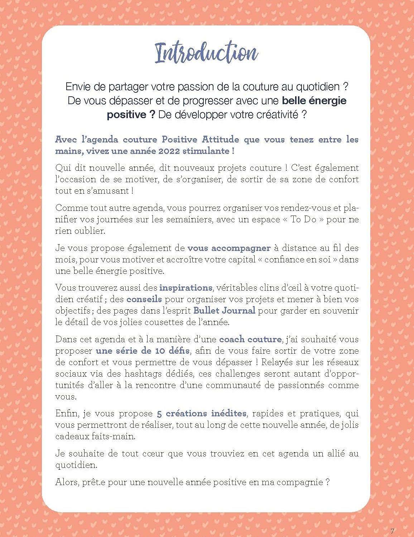 Agenda Couture & Positive Attitude 2022